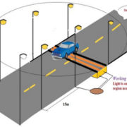 Vehicle Movement Street Light with Light Sensing Atmega